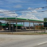 Before: A BP gas station and convenience store
