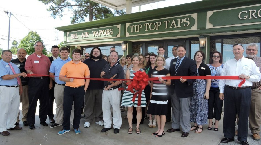 Tip Top Taps Ribbon Cutting